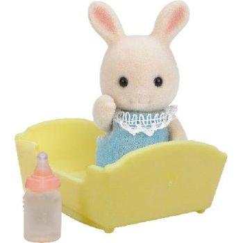 5063 Bebè Coniglio Latte con culla (ex 3418) - https://nohmee.com