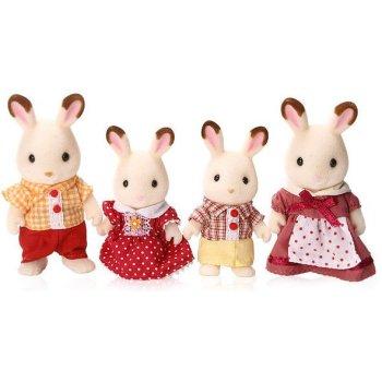 4150 Famiglia Conigli Cioccolato (ex 3125) - https://nohmee.com