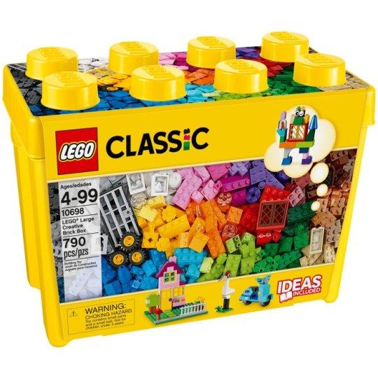 10698 LEGO® Scatola mattoncini creativi grande - https://nohmee.com