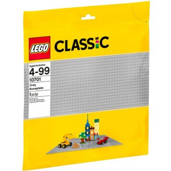 10701 LEGO® Base grigia - https://nohmee.com
