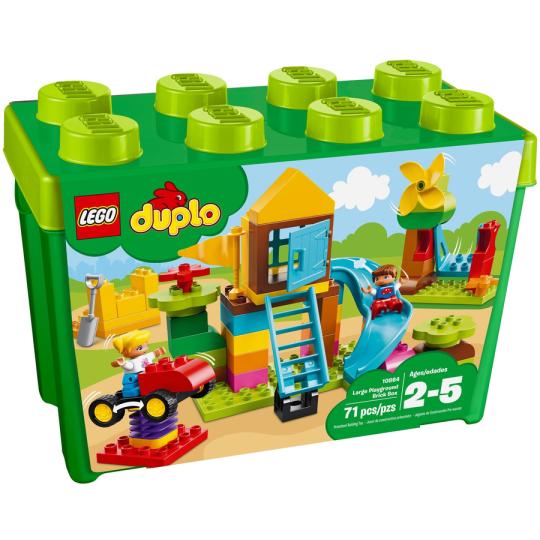 10864  DUPLO?  La mia grande scatola di mattoncini - Parco giochi - FUORI CATALOGO - https://nohmee.com