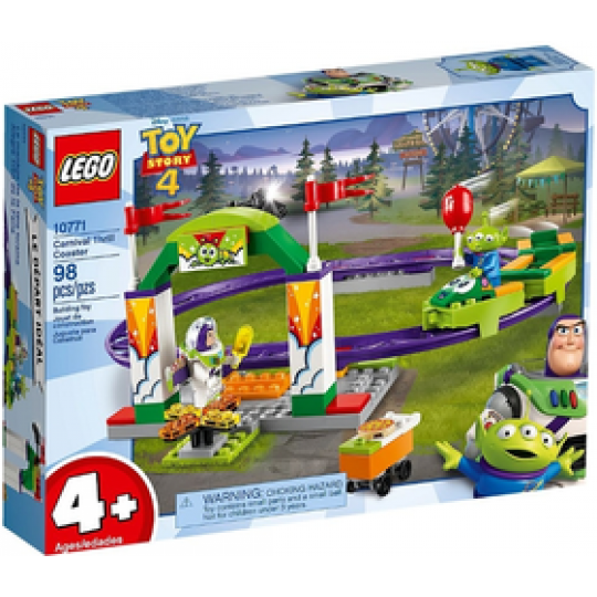 10771 TOY STORY 4 -  Carnival Thrill Coaster Set - https://nohmee.com