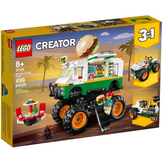 31104 CREATOR Monster Truck degli Hamburger - https://nohmee.com