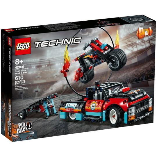 42106 TECHNIC Truck e moto dello Stunt Show - https://nohmee.com