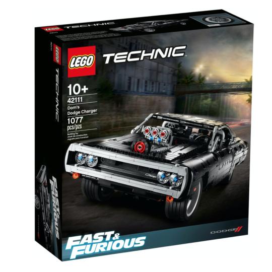 42111 Technics Dom's Dodge Charger NEW 05-2020 - https://nohmee.com