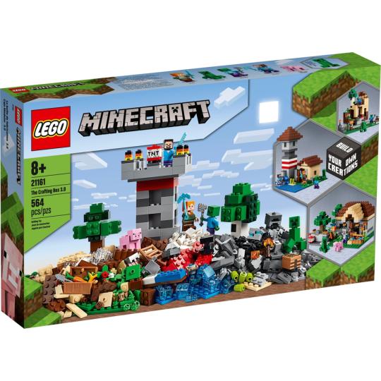 21161 Minecraft Crafting Box 3.0 NEW 06-2020 - https://nohmee.com