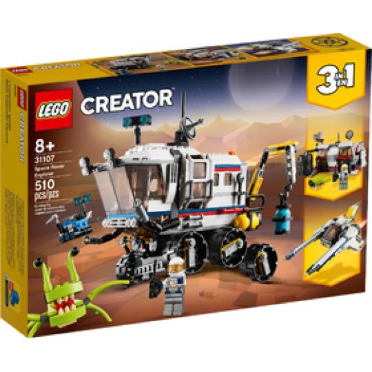 31107 CREATOR Il Rover di esplorazione Spaziale NEW 06-2020 - https://nohmee.com