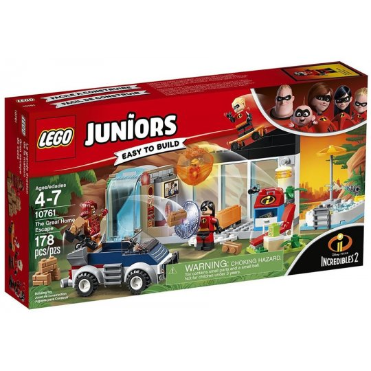 10761 @ JUNIORS Incredibles 2 - La grande fuga dalla casa - FUORI CATALOGO - https://nohmee.com
