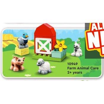10949 DUPLO Gli animali della fattoria  NEW 03 / 2021 - https://nohmee.com