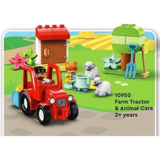 10950 DUPLO Il trattore della fattoria e i suoi animaletti NEW 03 / 2021 - https://nohmee.com