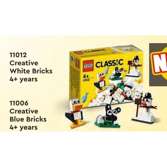 11012 CLASSIC Mattoncini bianchi creativi NEW 03 / 2021 - https://nohmee.com