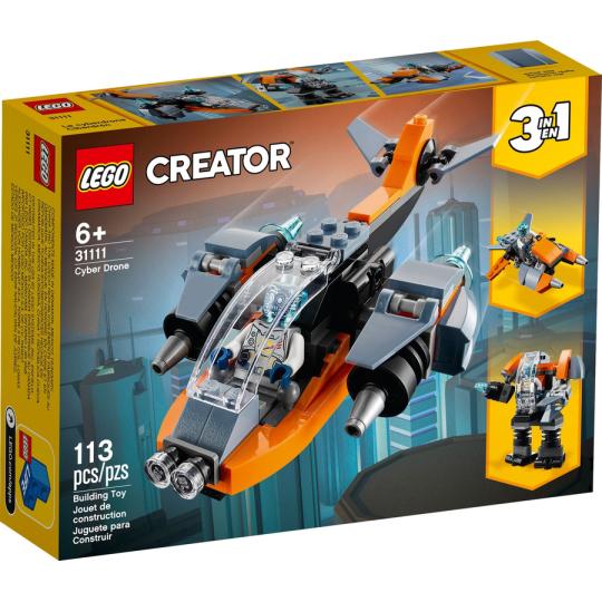 31111 CREATOR Cyber-drone NEW 01 / 2021 - https://nohmee.com