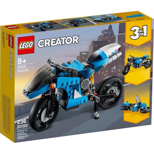 31114 CREATOR Superbike NEW 01 / 2021 - https://nohmee.com