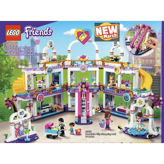 41450 FRIENDS Il centro commerciale di Heartlake City  NEW 03 / 2021 - https://nohmee.com