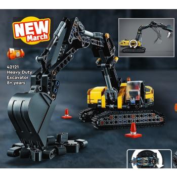 42121 TECHNIC Escavatore pesante NEW 03 / 2021 - https://nohmee.com
