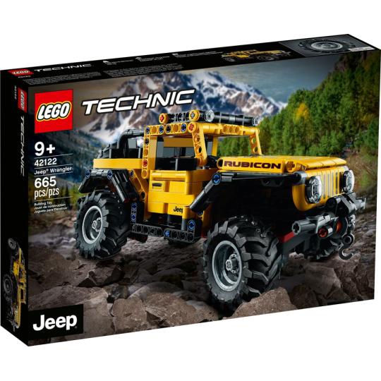 42122 TECHNIC Jeep Wrangler NEW 01 / 2021 - https://nohmee.com