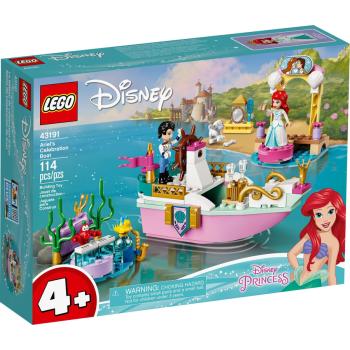 43191 DISNEY La barca della festa di Ariel NEW 01 / 2021 - https://nohmee.com