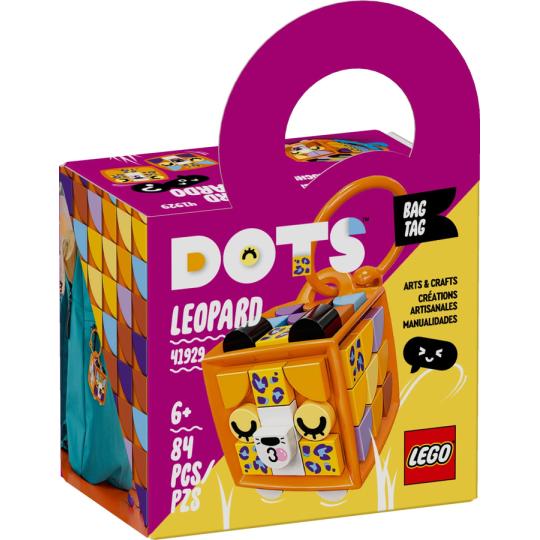 41929 DOTS BAG TAG - Leopardo NEW 06-2021 - https://nohmee.com